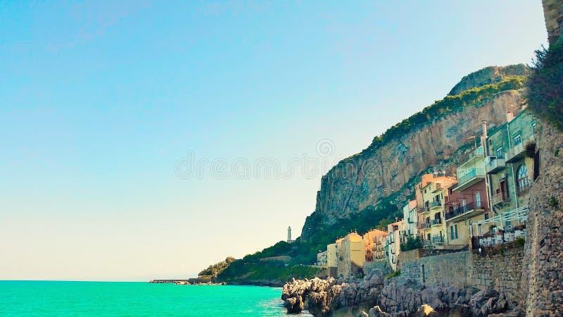 Cefalu, Sicilia obraz royalty free
