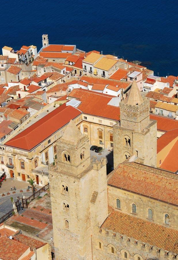 Cefalu/Sizilien lizenzfreies stockfoto
