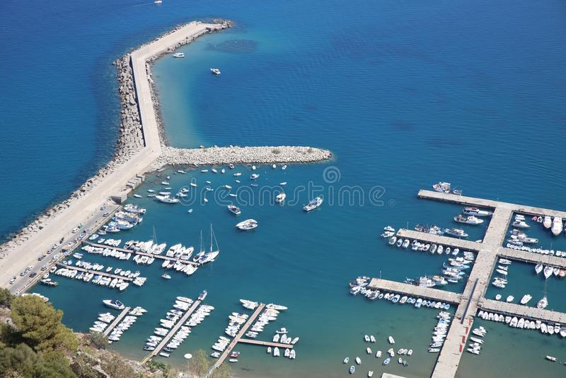 Cefalu w Sicily Włochy fotografia royalty free