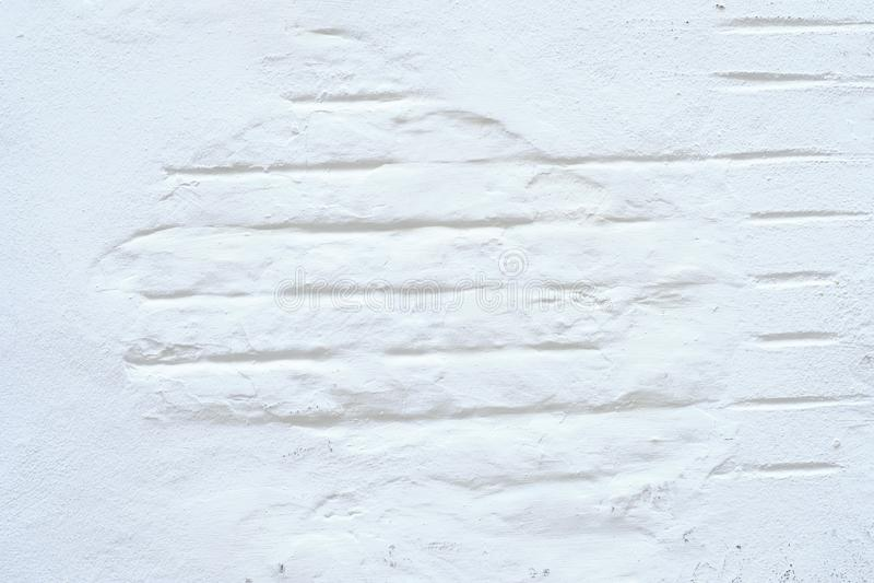 cegły ściany biel zdjęcia royalty free
