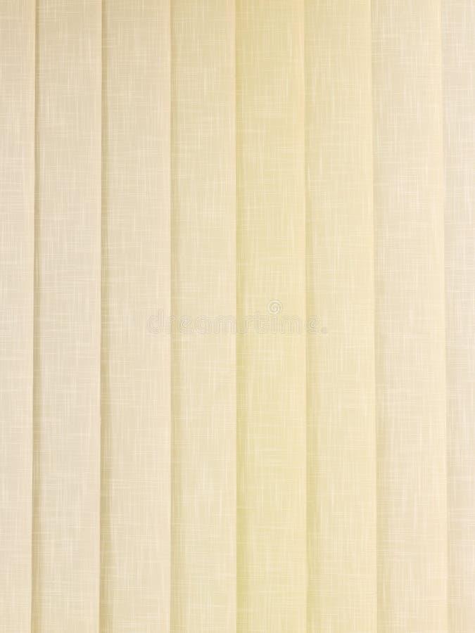 Cega a cortina de matéria têxtil foto de stock