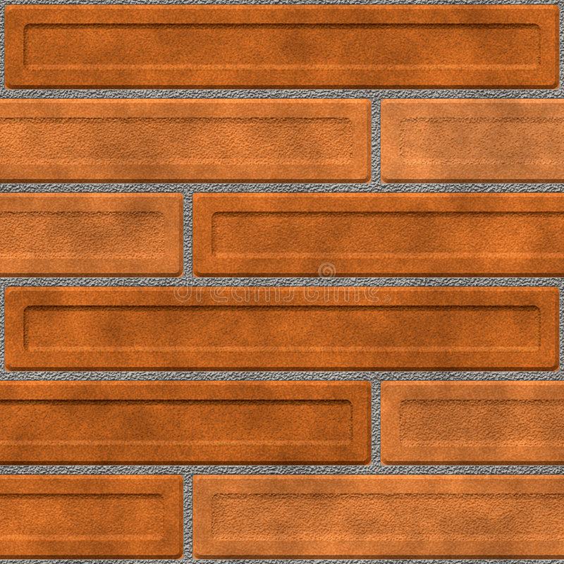 ceglana ściana piwne ilustracji