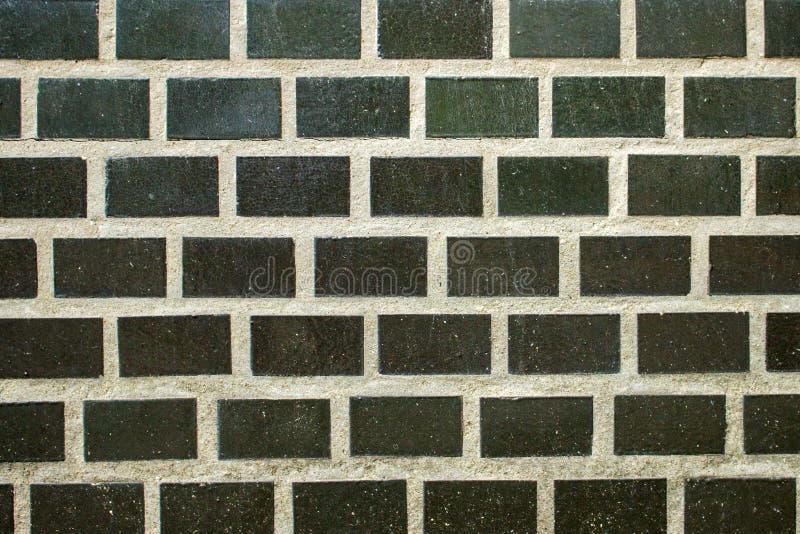 ceglana ściana tła stara Grunge tekstura Czarna tapetowa zmrok powierzchnia obraz royalty free