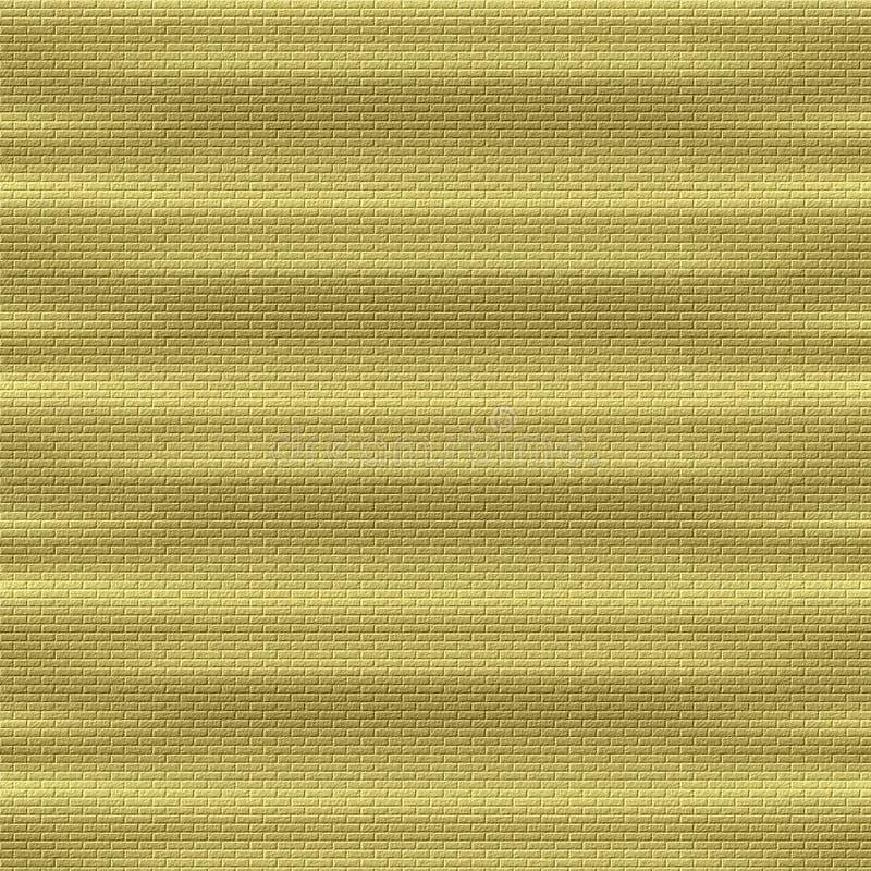 ceglana ściana złota ilustracja wektor
