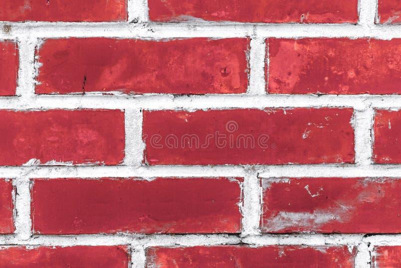 ceglana czerepu czerwieni ściana obraz royalty free