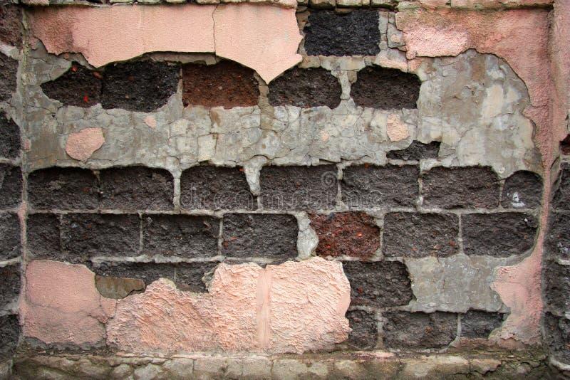 ceglana stara ściana zdjęcia stock