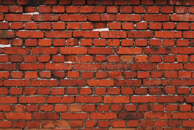 ceglanej czerwieni ściana zdjęcie stock