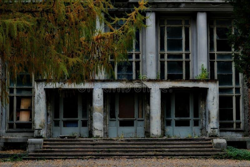 Ceglany dom obrazy royalty free