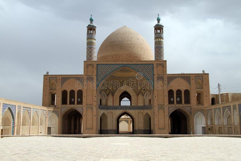 Ceglany meczet zdjęcia stock