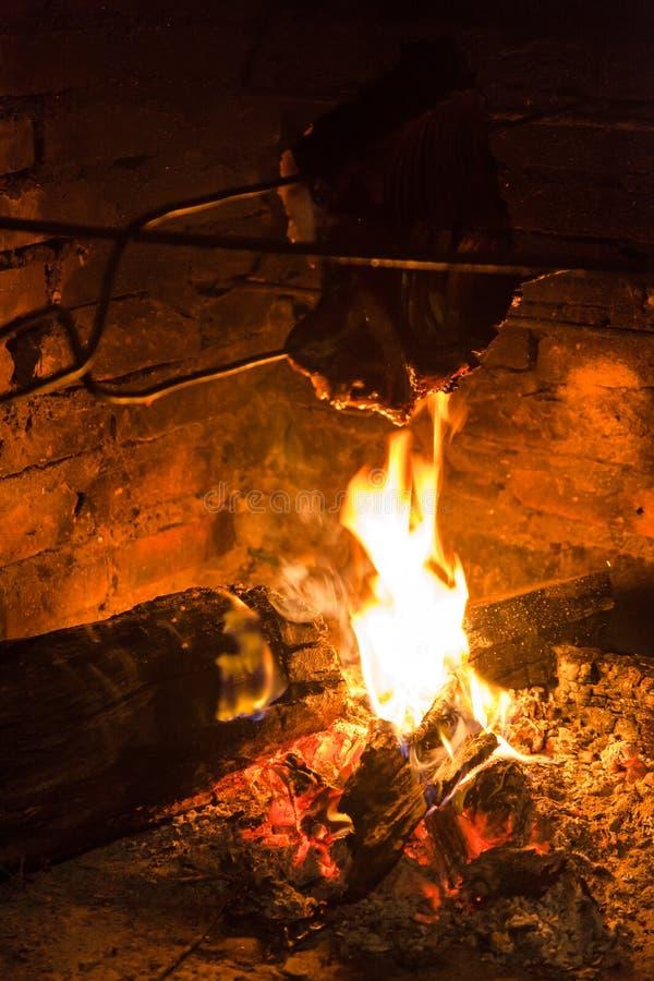 Ceglany piekarnika gospodarstwo rolne Brazylia zdjęcie stock