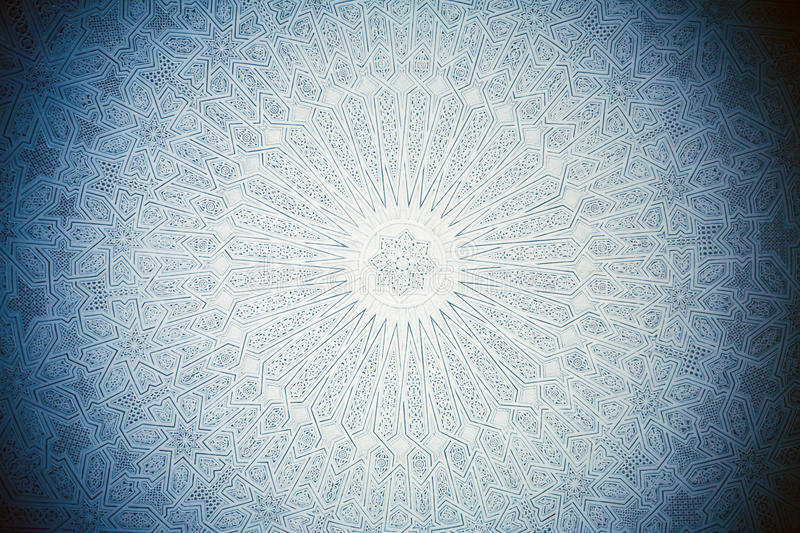 Ceiling In Arabian Style Stock Photography