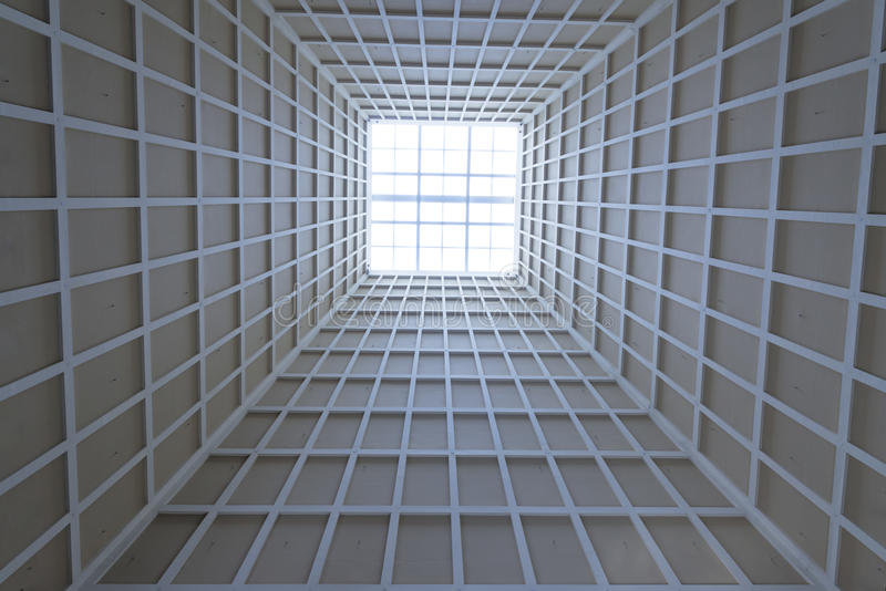 Ceiling Architecture Highlight stock image