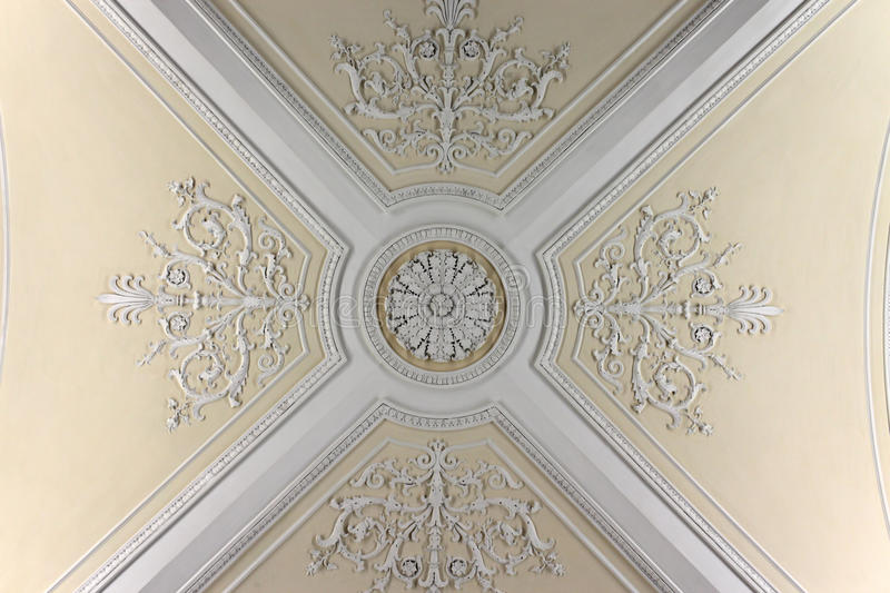 Ceiling of the Augustus Room royalty free stock photography