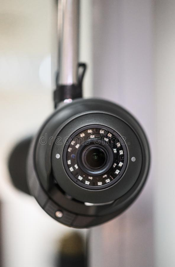 Ceiling camera, security camera. Ceiling camera, CCTV Security Camera. Alarm system home royalty free stock image