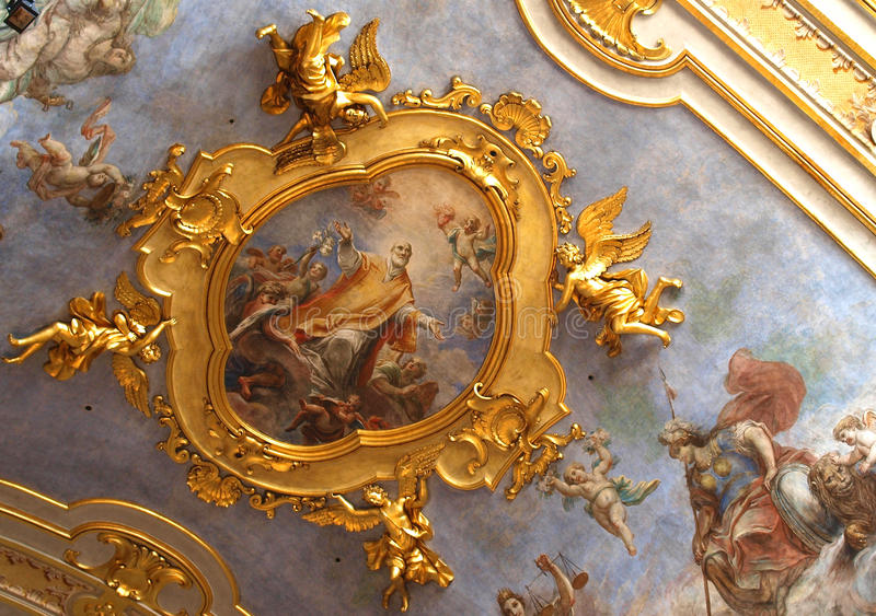 Ceiling Decoration Royalty Free Stock Image