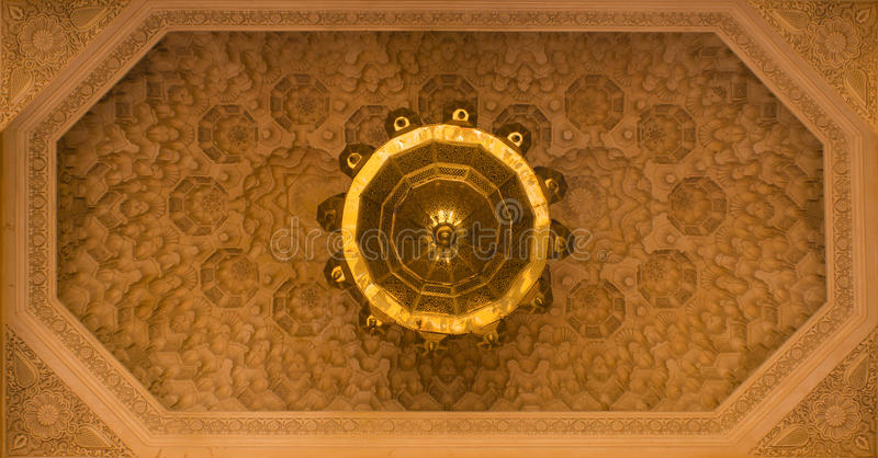 Download Ceiling decoration stock image. Image of exterior, geometric - 27767509