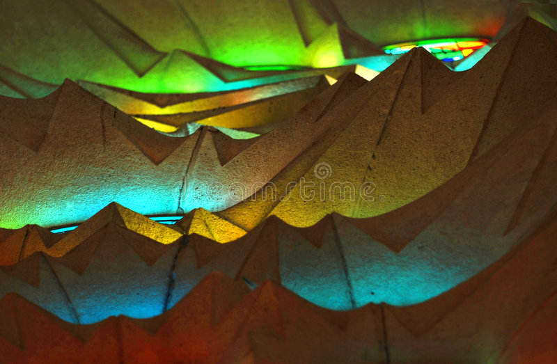 ceiling familia sagrada στοκ φωτογραφία με δικαίωμα ελεύθερης χρήσης