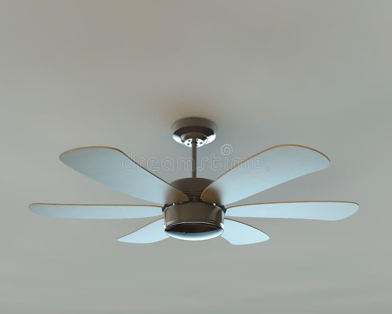 Ceiling fan stock illustration