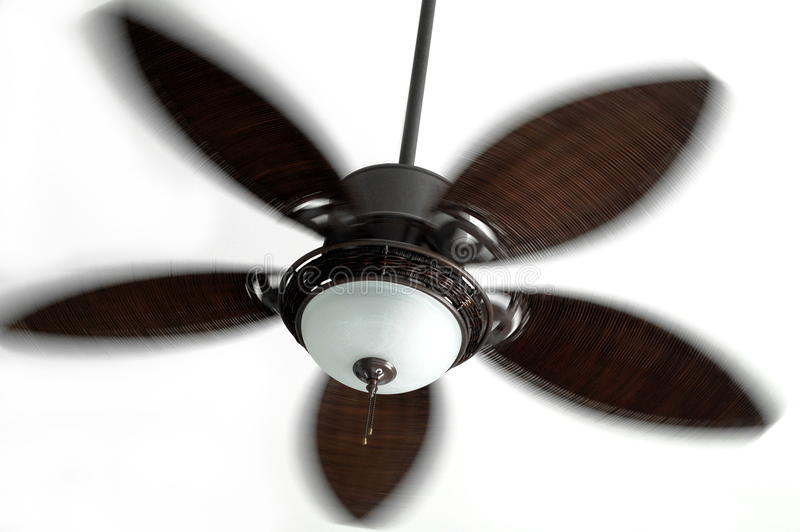 Download Ceiling Fan in Motion stock image. Image of moving, decorative - 10451793