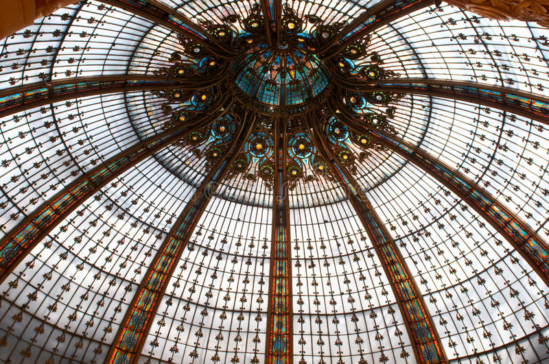 Download Ceiling In Galleries Lafayette Stock Image - Image: 19915153