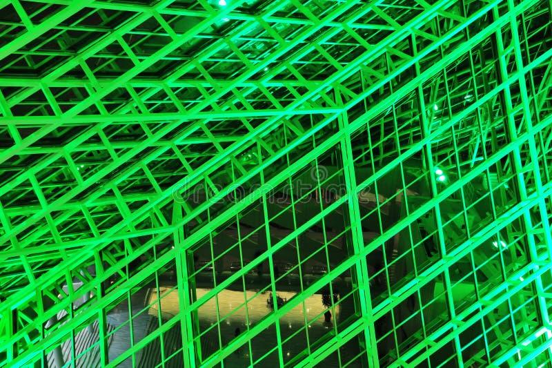 ceiling glass στοκ φωτογραφία
