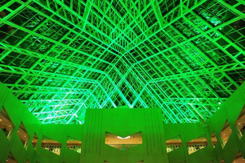 ceiling glass στοκ εικόνες
