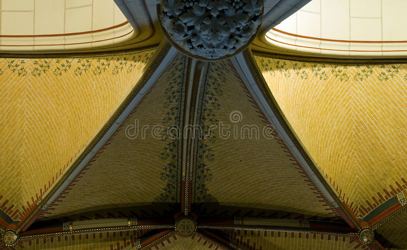 Ceiling hall Rijksmuseum royalty free stock photos