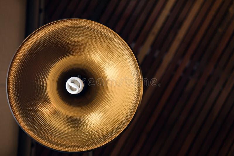 Ceiling lamp of interior Light bulbs stock photos