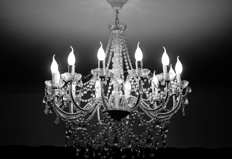 The ceiling lamp lovely designing royalty free stock photo