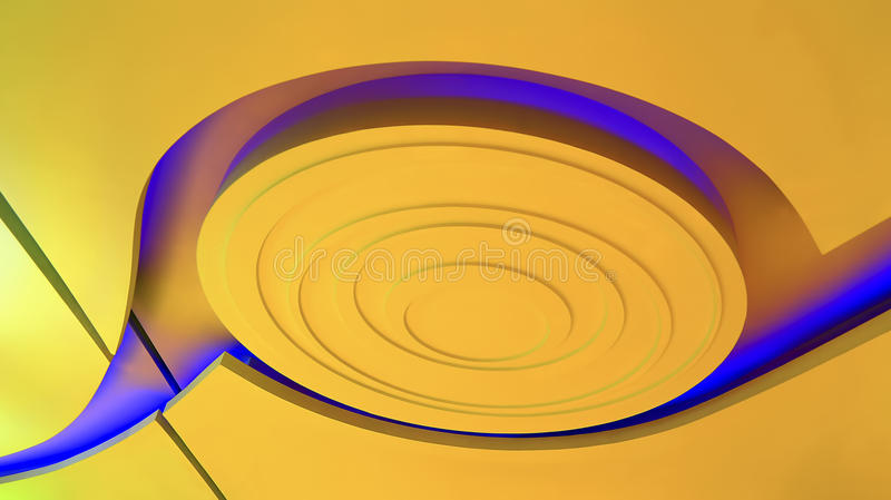 Ceiling lights graphic design stock photo