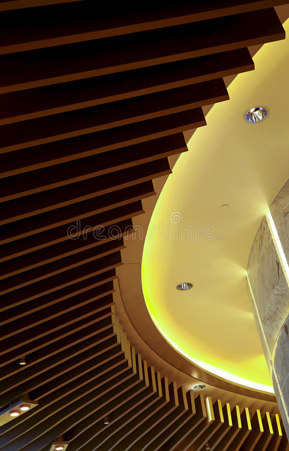 Ceiling lights wooden fixture graphic design royalty free stock photo