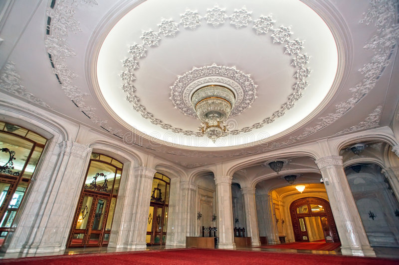 ceiling luxurious palace στοκ εικόνες
