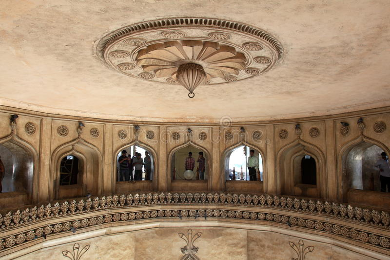 Download Ceiling Of Mosque With Onlookers Editorial Photography - Image: 23308812
