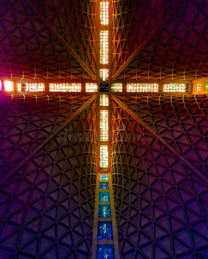 Free Ceiling Of The Cathedral Of Saint Mary Of The Assumption Royalty Free Stock Image - 118038026