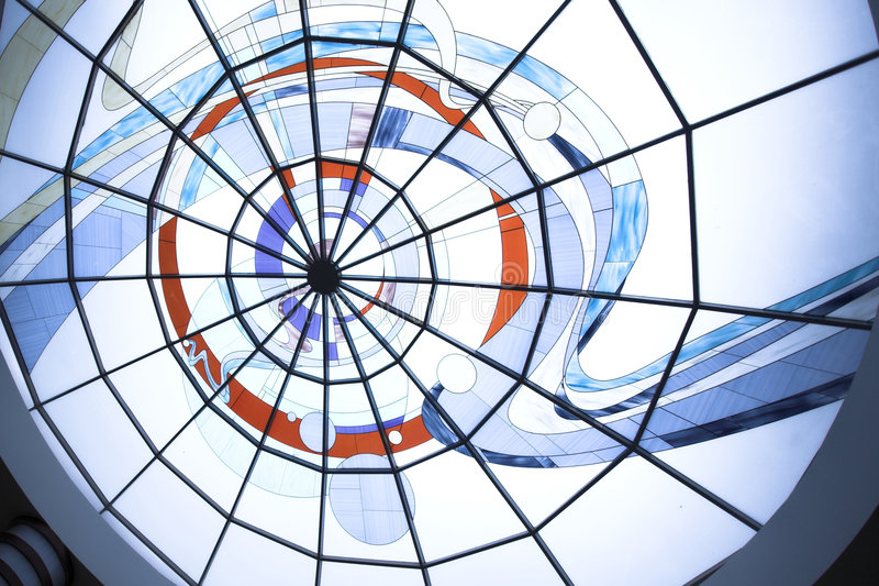 Ceiling in office royalty free stock photo