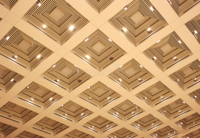 Download Ceiling stock image. Image of hall, ceiling, assembly - 32652289