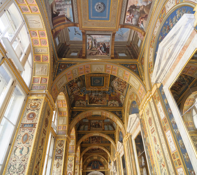 Download Ceiling In State Hermitage Museum Editorial Photography - Image: 16895737