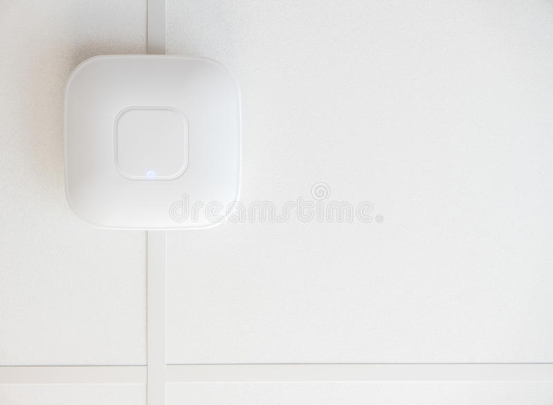 Ceiling Wifi Router stock images