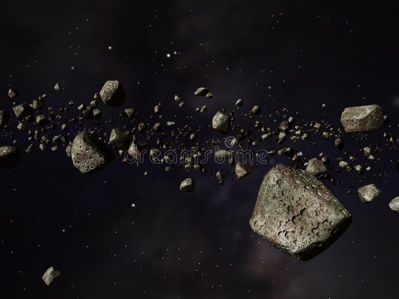 Ceinture de Kuiper illustration stock