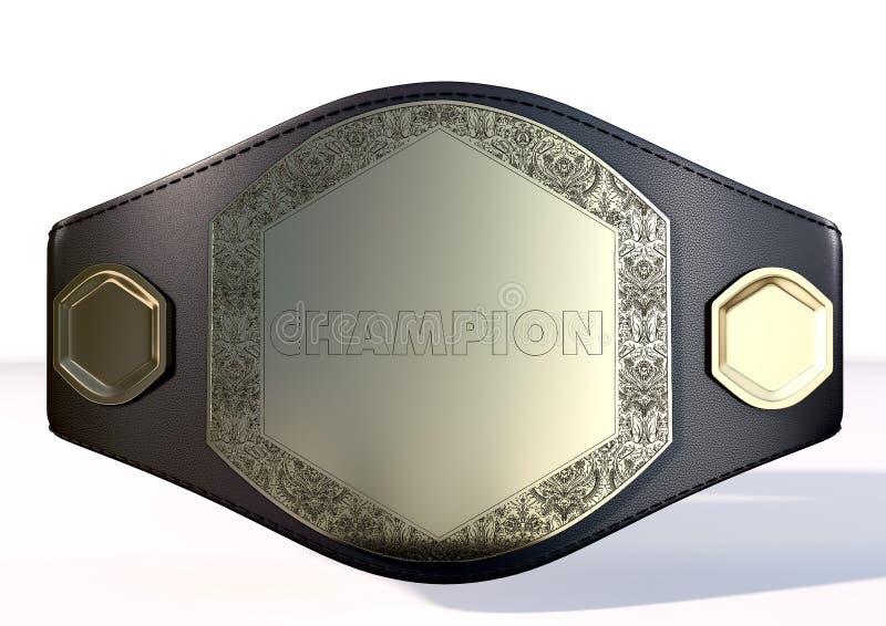 ceinture du championnat 3D photo stock