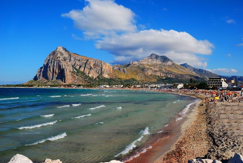 Ceja de San Vito Lo (Sicilia) fotos de archivo libres de regalías