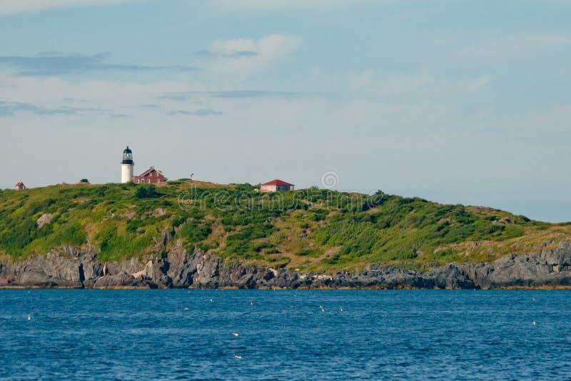 Cekin wyspy latarnia morska zdjęcie royalty free