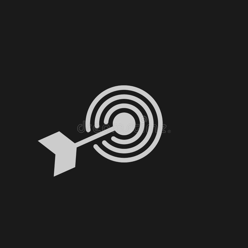 cel linii ikona, konturu logo wektorowa ilustracja, liniowy piktogram ilustracji