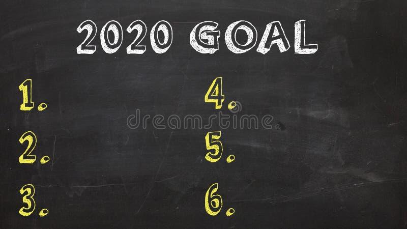 Cel 2020, 2020, Cel, Nowy Rok ilustracji