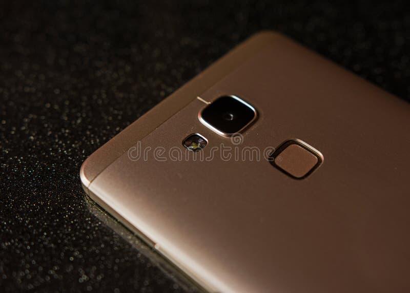 Cel phone details stock image