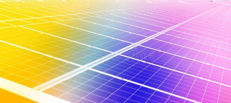 Cel solare immagine stock