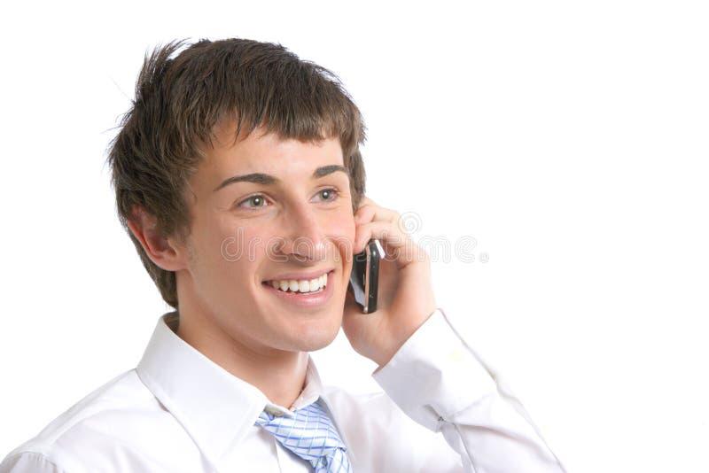 cela ludzi biznesu telefon zdjęcie stock