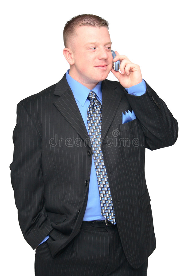 cela ludzi biznesu z telefonu obraz royalty free