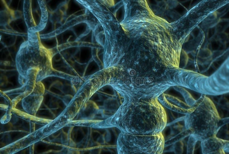cela neuronów royalty ilustracja
