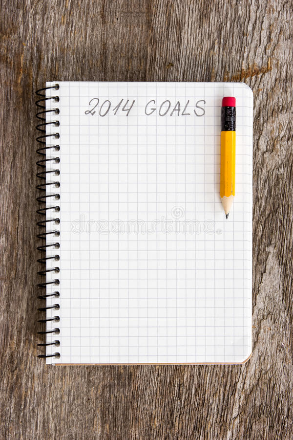 Cele rok 2014 obraz stock